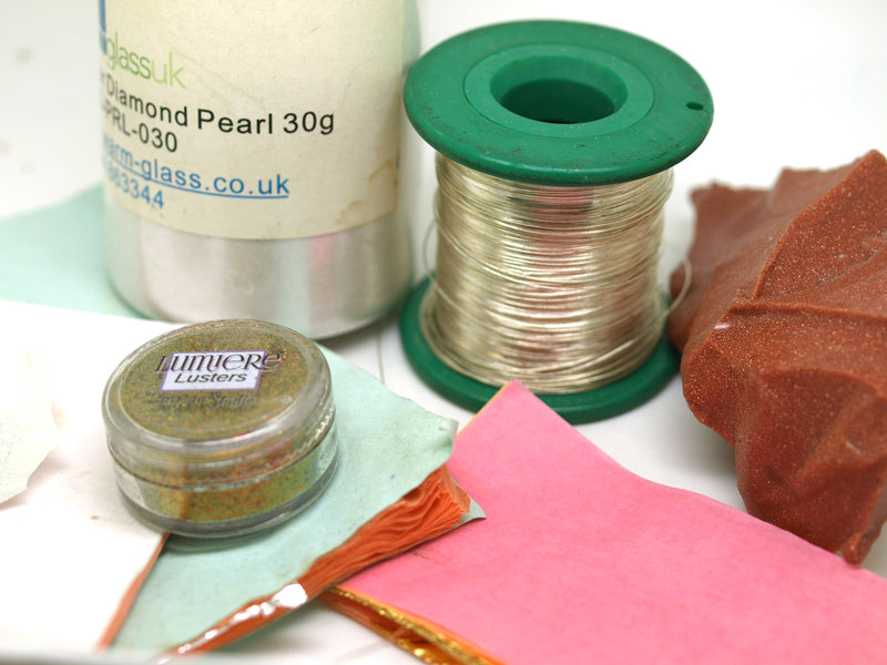 Glass Beadmaking - additional materials.