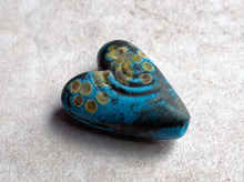 Load image into Gallery viewer, Rustic Turquoise Heart