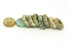 Load image into Gallery viewer, Rustic Disc Beads - Big Hole Bead Set.