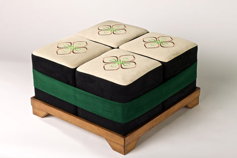 Sushi Style Bento Ottoman - Set of Four