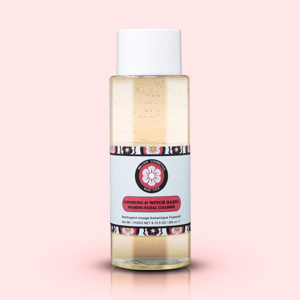 Ginseng & Witch Hazel Foaming Facial Cleanser