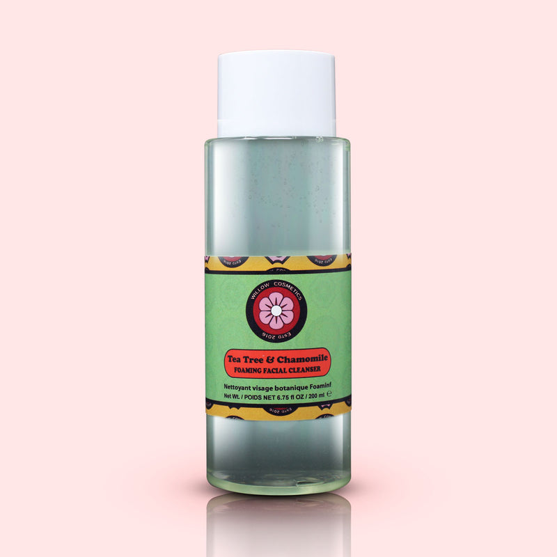 Tea Tree & Chamomile Foaming Facial Cleanser