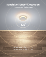 Load image into Gallery viewer, RONA Motion Sensor Changerable Brightness Smart Adhesive Metal Pad Night Light