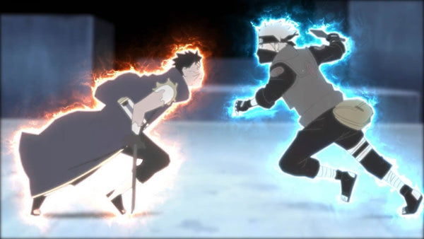 Kakashi vs. Obito