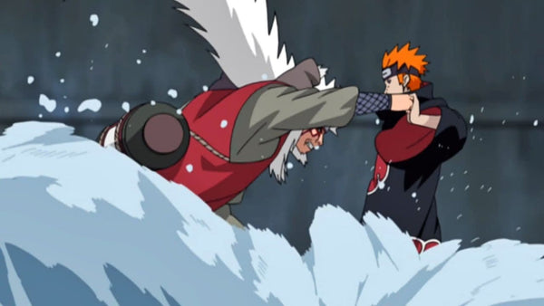 Jiraiya vs. Pain