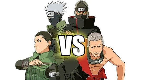 Team 7 & 10 vs. Hidan & Kakuzu