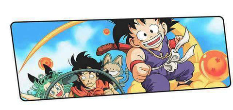 Tapis de souris dragon ball yamcha & bulma