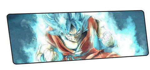 Tapis de souris dragon ball sangoku ssj blue