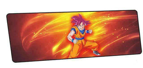 Tapis de souris dragon ball sangoku ssj god