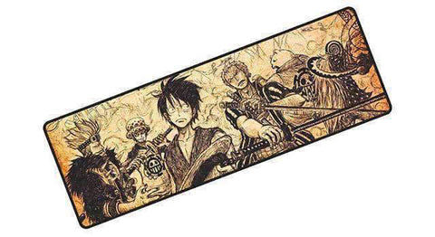 Tapis de souris one piece Mugiwara XXL