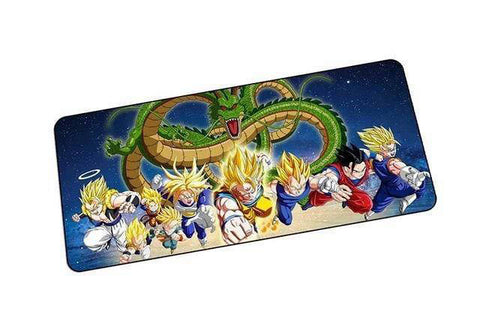 Tapis de souris Dragon Ball Z Saiyan