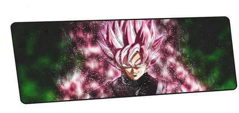 Tapis de souris dragon ball goku black rosé