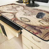 Tapis de souris Map du Monde Cartographié