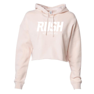 Women's Blush Crop Hoody