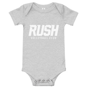 Grey Baby Bodysuit