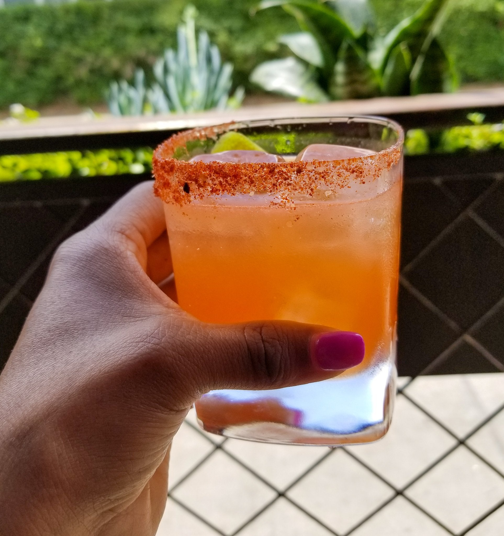 CHILE SALT RIMMED MARGARITA