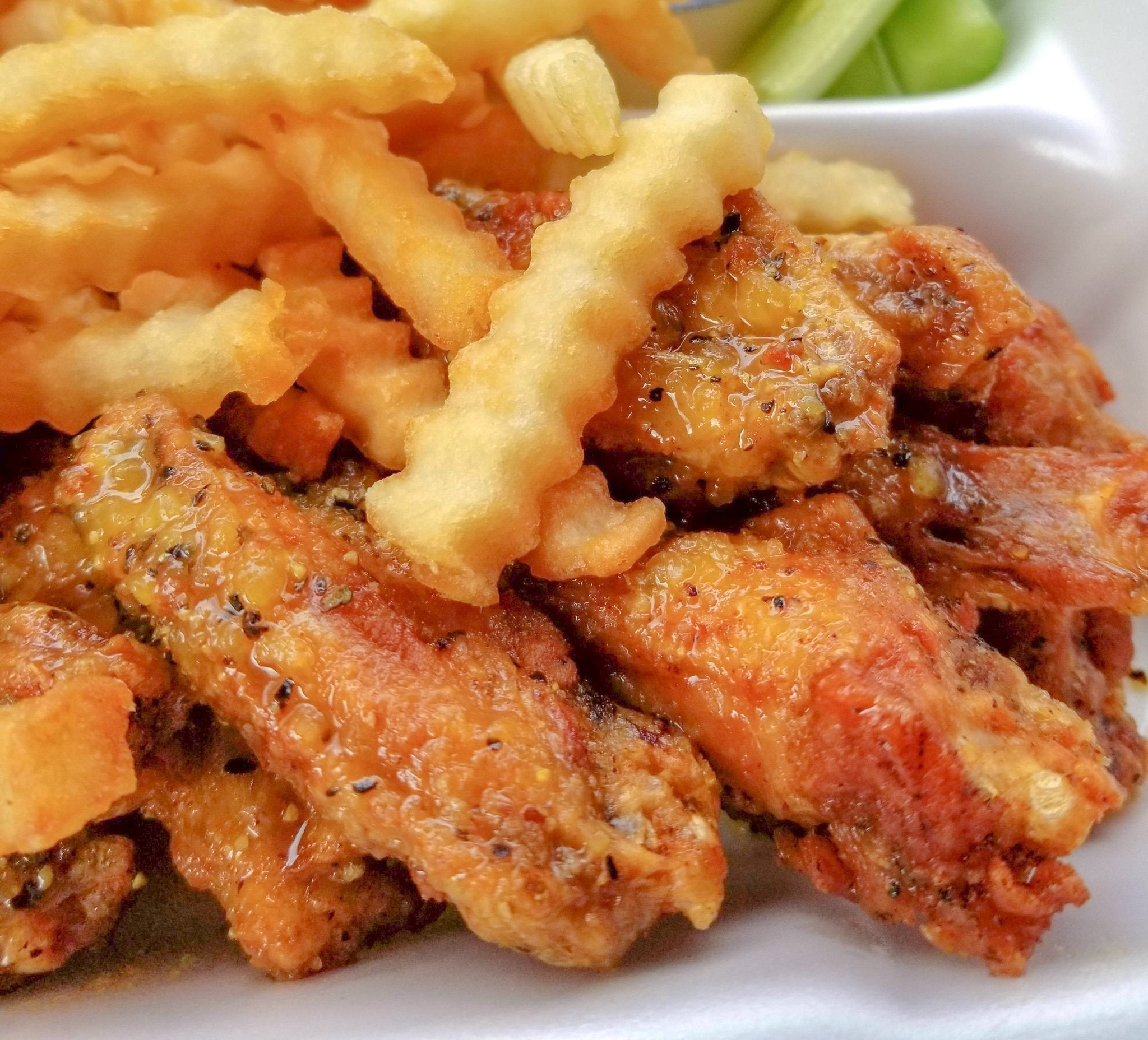 Travelogue:  Your Guide To ATL Lemon Pepper Wings