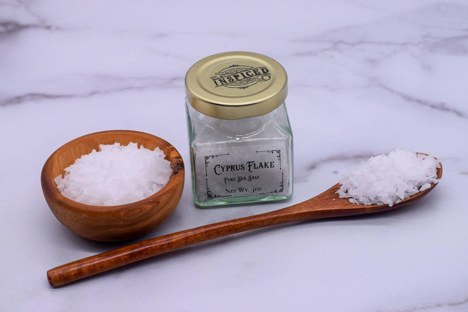 Cyprus Flake Sea Salt - Inspiced.com