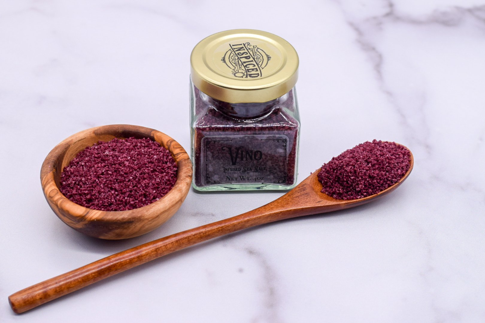 Vino Infused Sea Salt - Inspiced.com