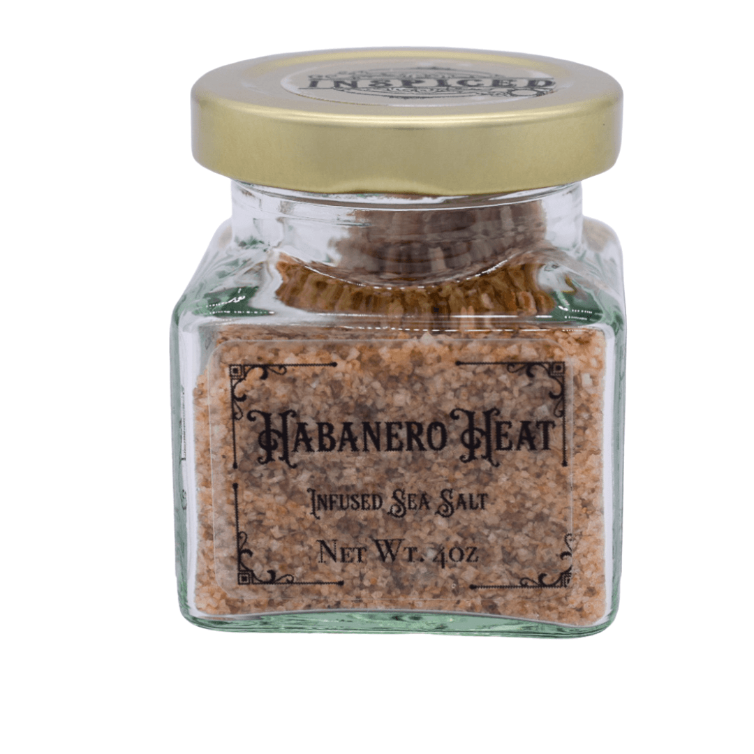 Habanero Heat Infused Sea Salt - Inspiced.com