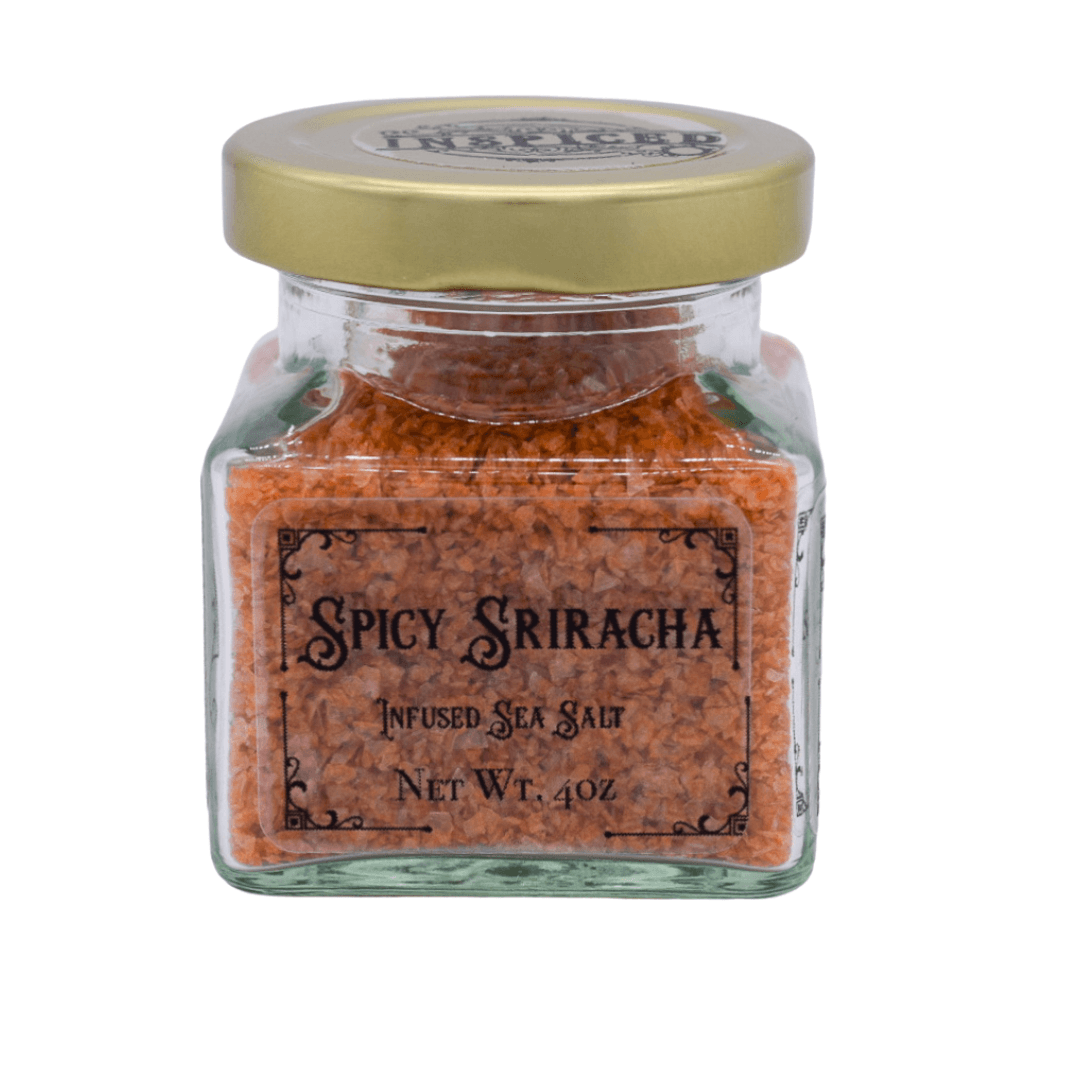 Spicy Sriracha Infused Sea Salt - Inspiced.com