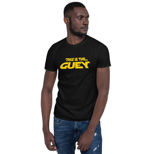 This is the GEUY! Short-Sleeve Unisex T-Shirt