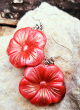 Load image into Gallery viewer, Polymer Clay Flower Earrings - Shabbydabbsdesign