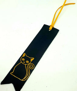 Handmade High Quality Leather Bookmark - Shabbydabbsdesign