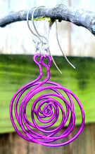 Load image into Gallery viewer, Swirl Earrings - Shabbydabbsdesign