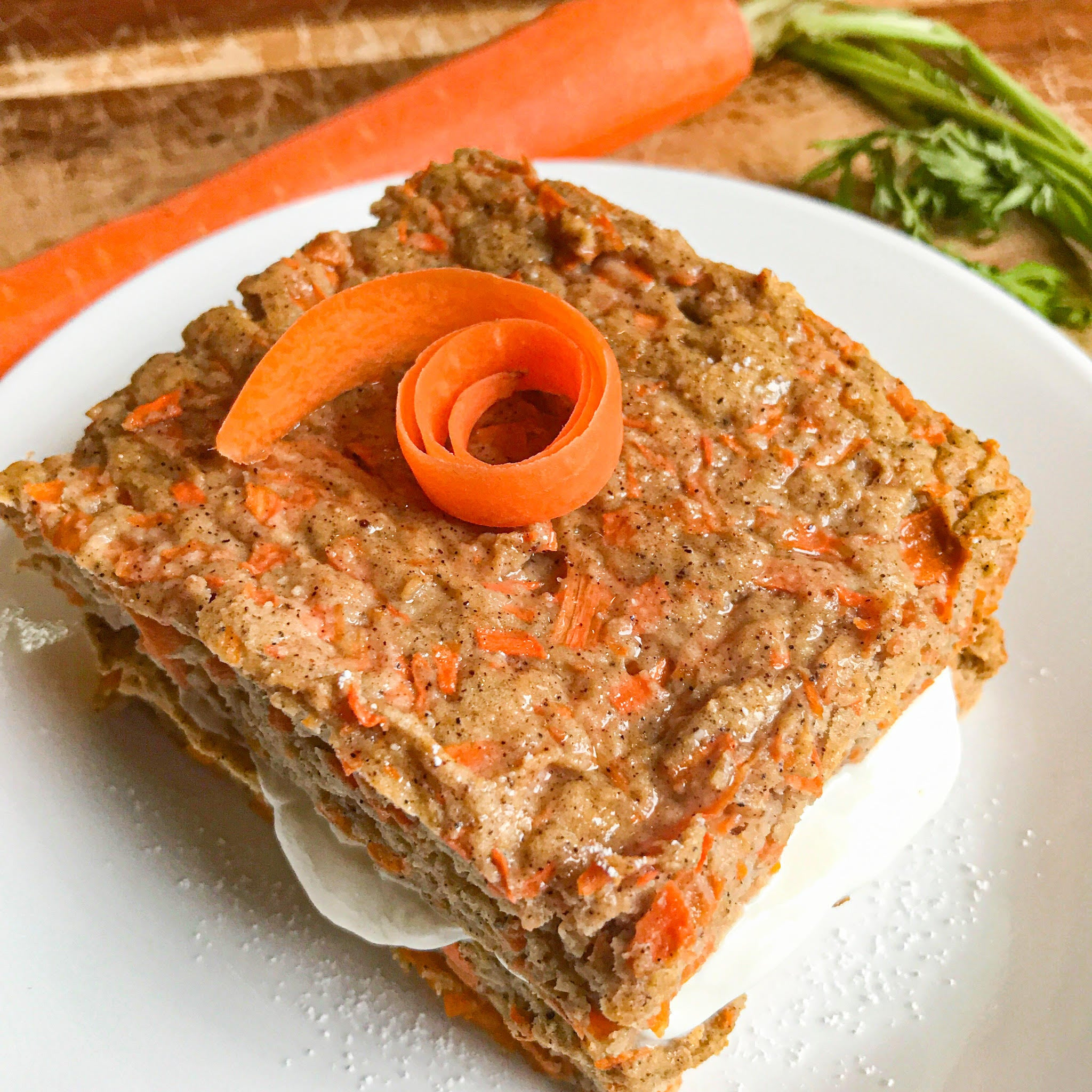 Fit Whip Carrot Cake