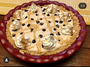 Chocolate Peanut Butter Protein Pie