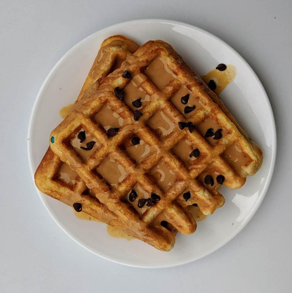 Vanilla Fit Whip Protein Waffles