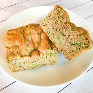 Macro-Friendly Fit Whip Zucchini Bread
