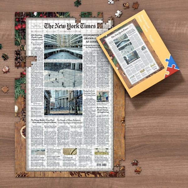 The New York Times Jigsaw Puzzle, Christmas Puzzle