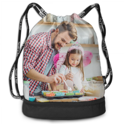 Bundle Photo Backpack - Custom Photo On Drawstring Sportpack