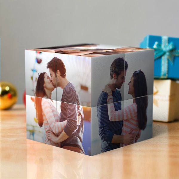 Custom DIY Magic Folding Photo Rubik's Cube | Photo Cube | Christmas Gift For Her