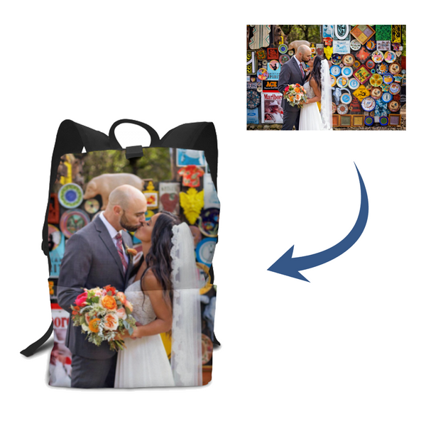 Personalized Photo Backpack