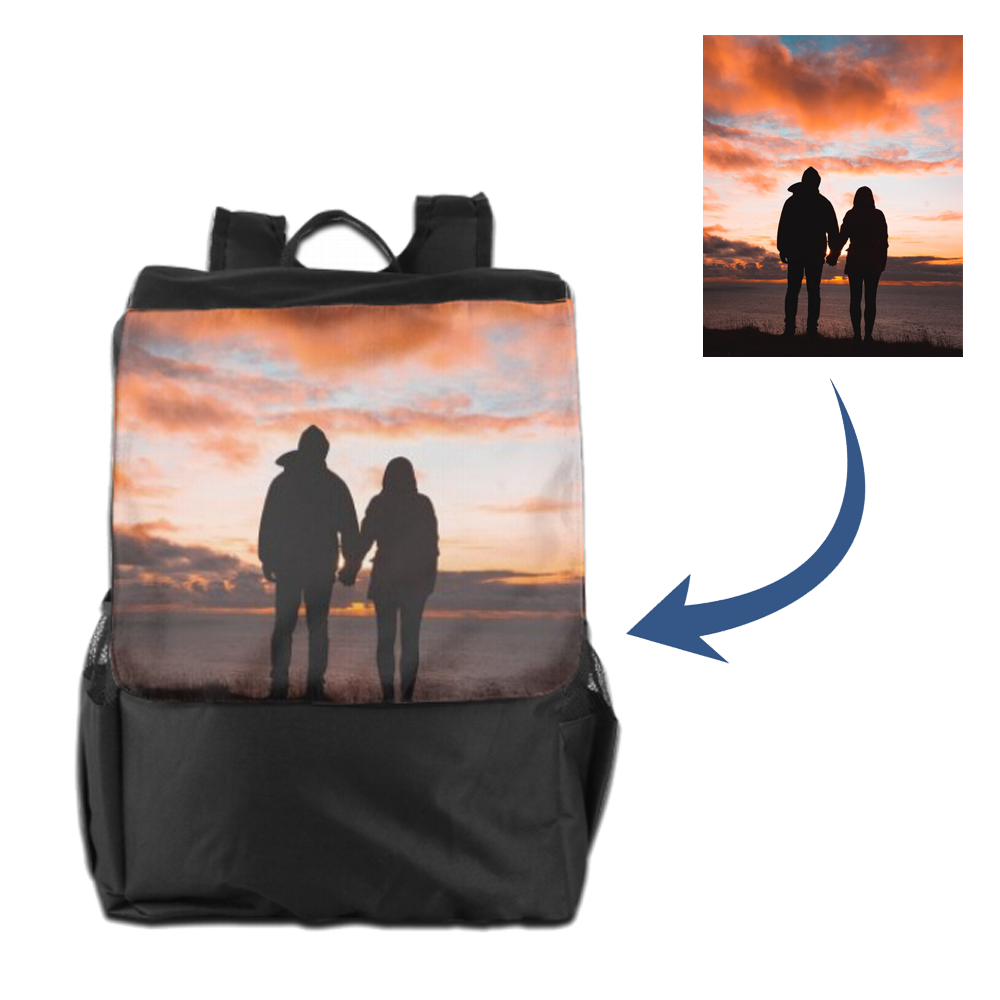 Personalized Travel Bag - Adult Backpack