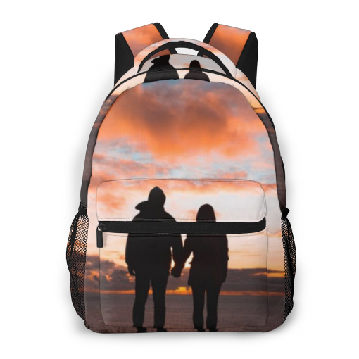 Custom All Print Photo BackPack, Personalized Photo Backpack