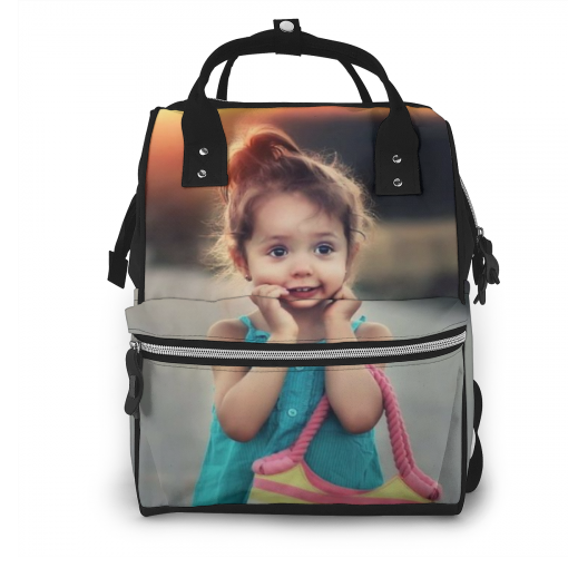 Personalized Photo Mummy backpack
