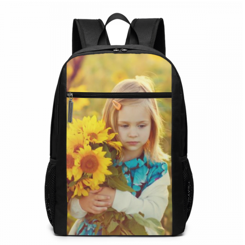 Personalized Photo Schoolbag Backpack 17 inch