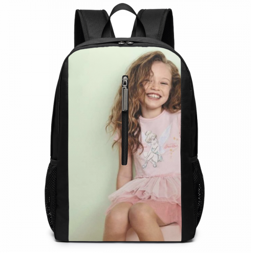 Custom Backpack Photo Schoolbag 17 Inch