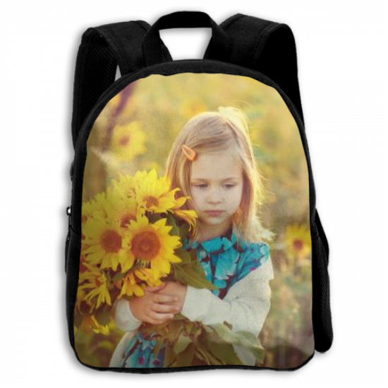 Kid's Custom Schoolbag With Your Photo Personalized Backpack