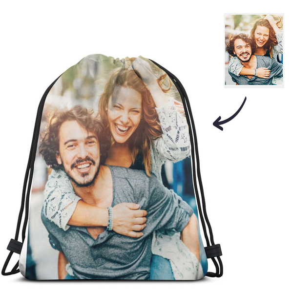 Custom Photo Drawstring Sportpack $9.99 - Shopping Bags