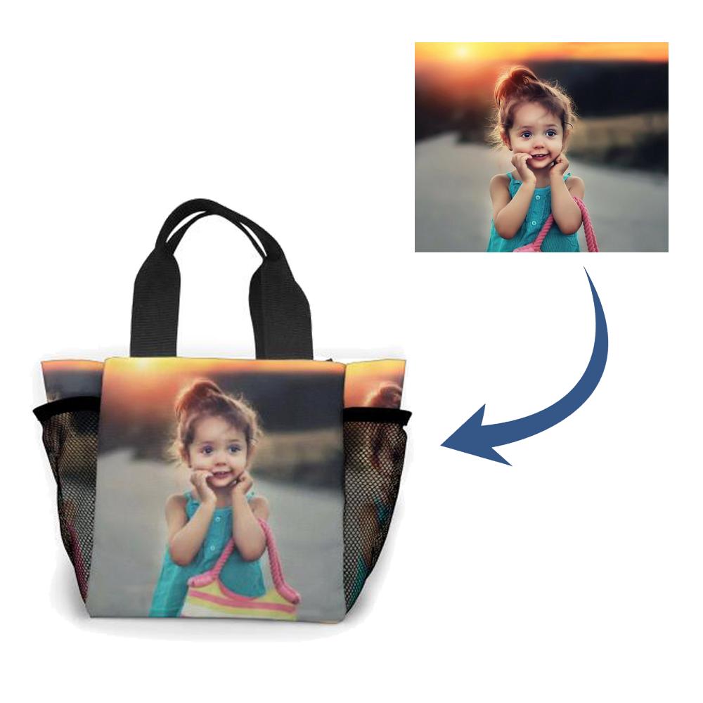 Personalized photo Hand bag