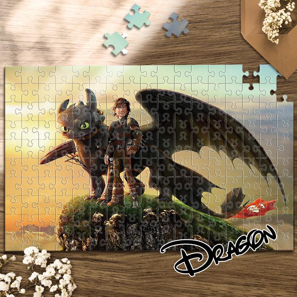 Jigsaw Puzzle Disney Funny Story-Dragon 1000 Pieces Max