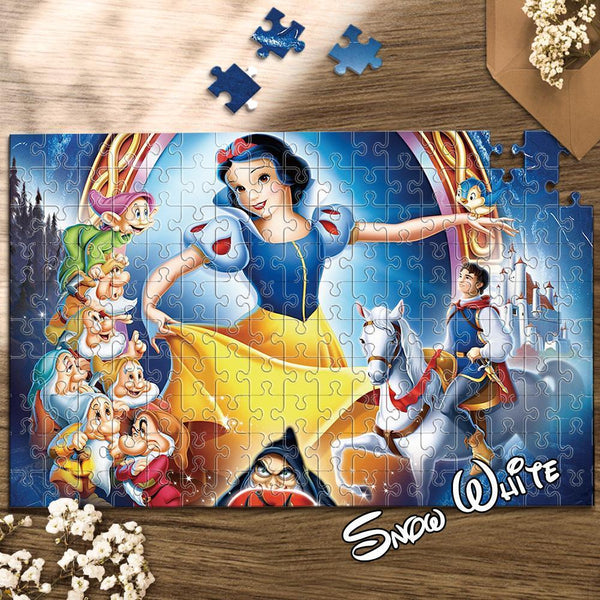 Jigsaw Puzzle Disney Funny Story-Snow White 1000 Pieces Max