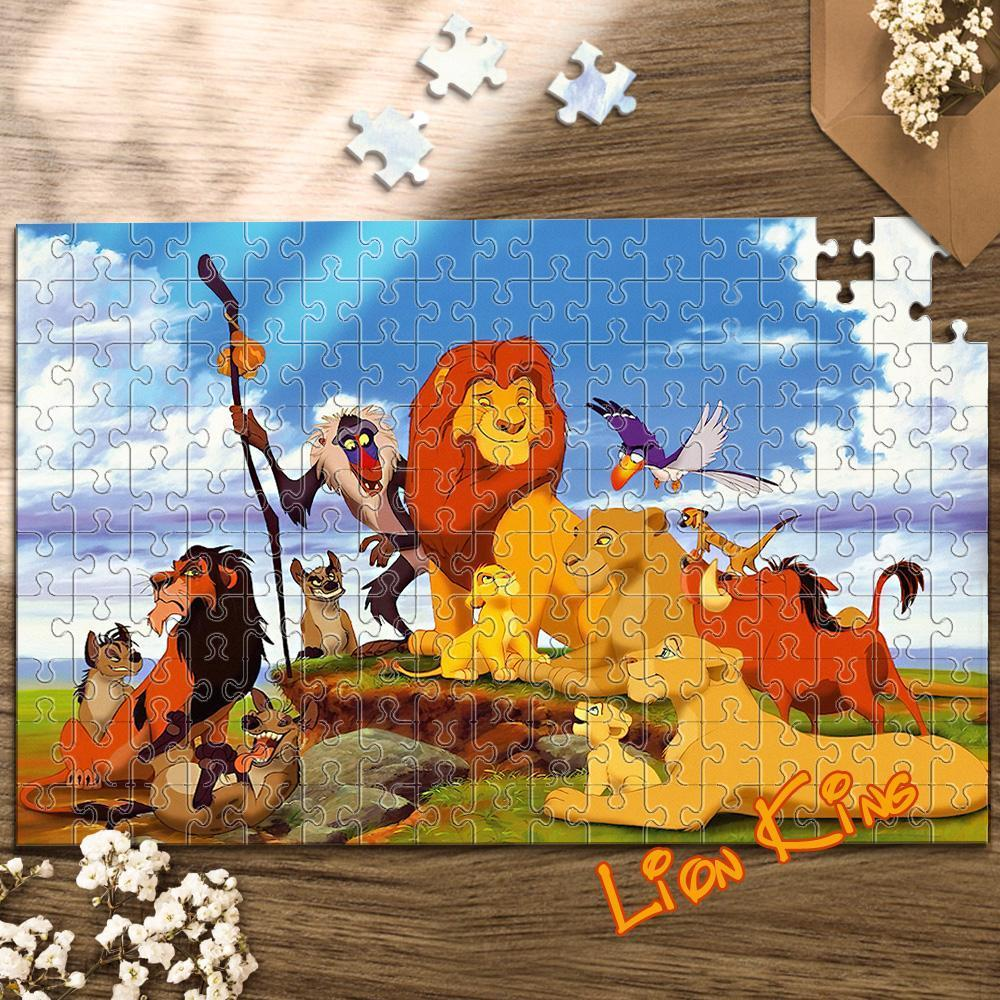 Jigsaw Puzzle Disney Funny Story-Lion King 1000 Pieces Max