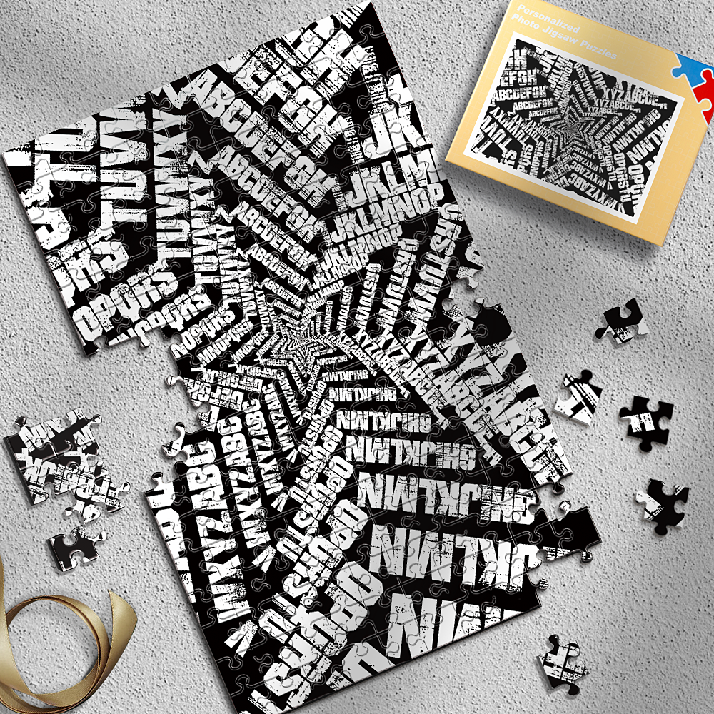 Pentagram letters Puzzles Best Stay-At-Home Gifts 300-1000 Pieces