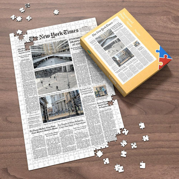 HD Preview The New York Times Front Page Jigsaw Puzzle The Day You Were Born Birthday Puzzles Mother's Day Gift